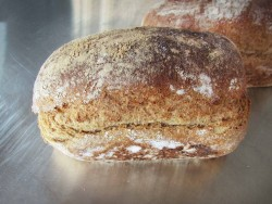 Tarwekiem volkoren brood